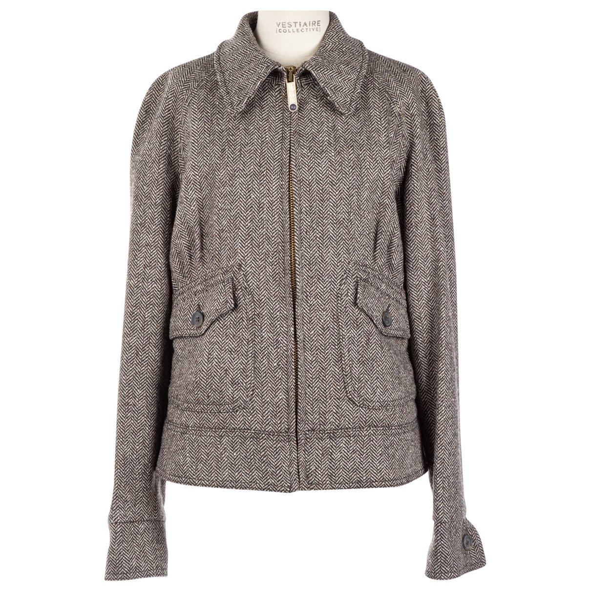 Red Valentino Garavani N Brown Wool jacket for Women 42 IT