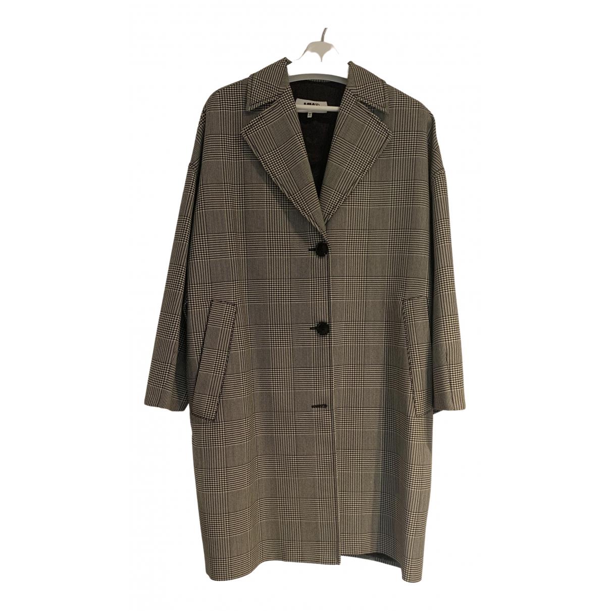Mm6 N Wool coat for Women 40 IT
