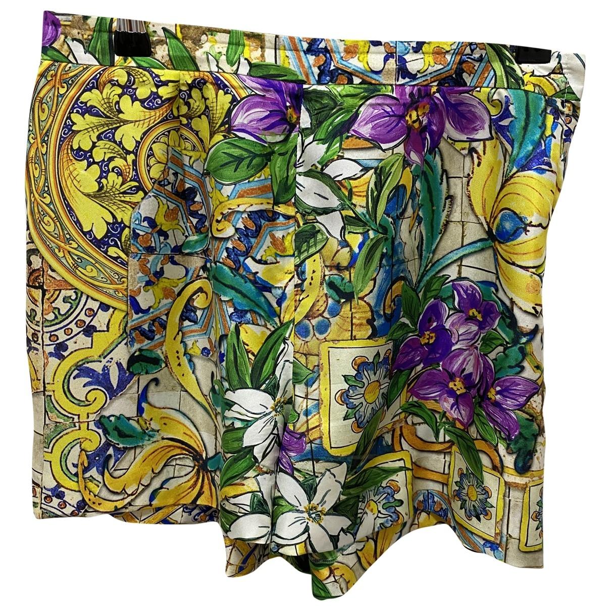 Dolce & Gabbana \N Shorts in  Bunt Seide