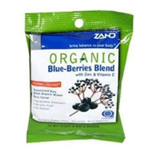 Herbalozenge Organic Blue Berries 18 Loz by Zand