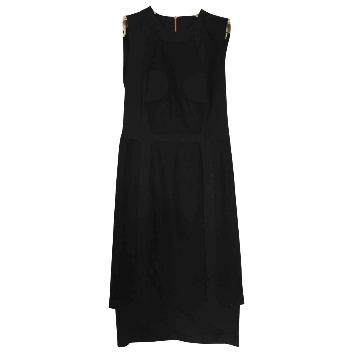 Cedric Charlier - Robe   pour femme en laine - noir