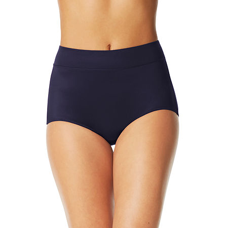 Warners No Pinching. No Problems. Tailored Microfiber Brief Panty 5738, 10 , Blue