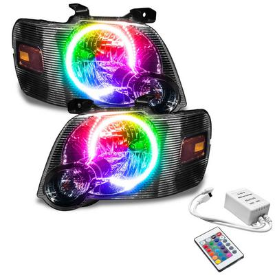 Oracle Lighting Pre-Assembled LED Halo Headlights (ColorSHIFT - Simple) - 7736-504