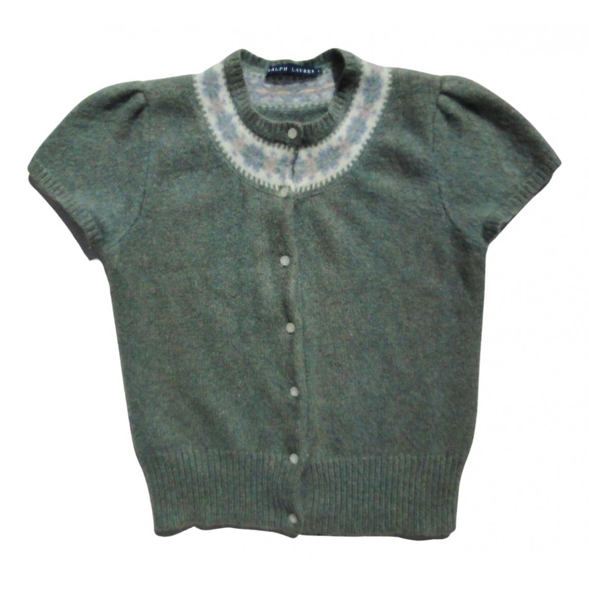 Ralph Lauren - Pull   pour femme en laine - turquoise