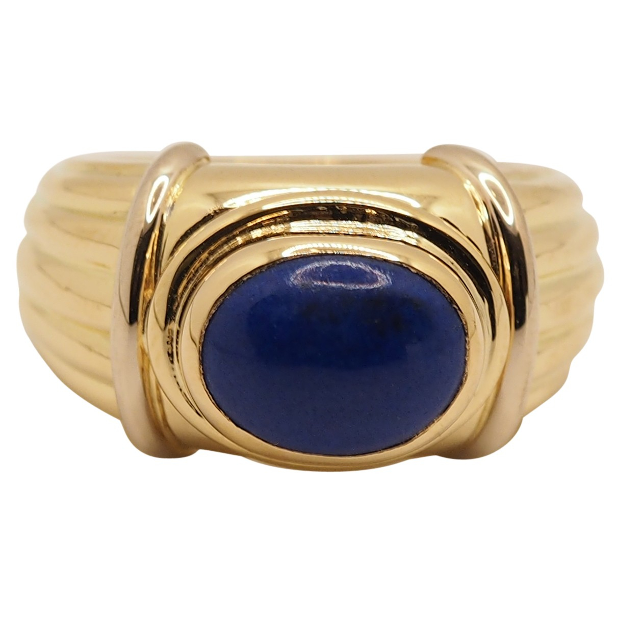 Boucheron Jaipur Blue Yellow gold ring for Women 52 EU