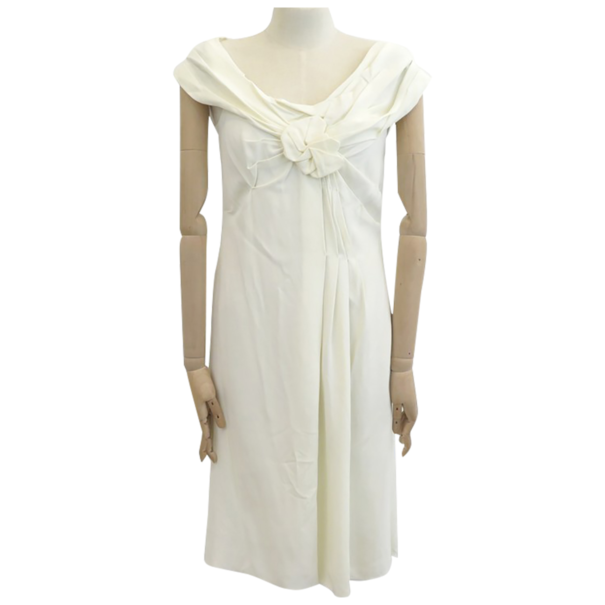 Prada - Robe   pour femme - ecru