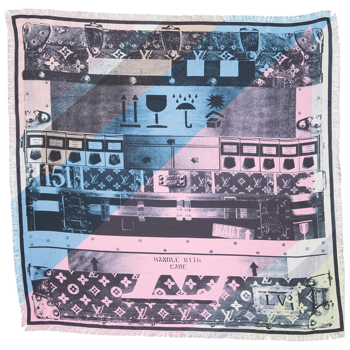 Louis Vuitton - Cheches.Echarpes   pour homme en soie - multicolore