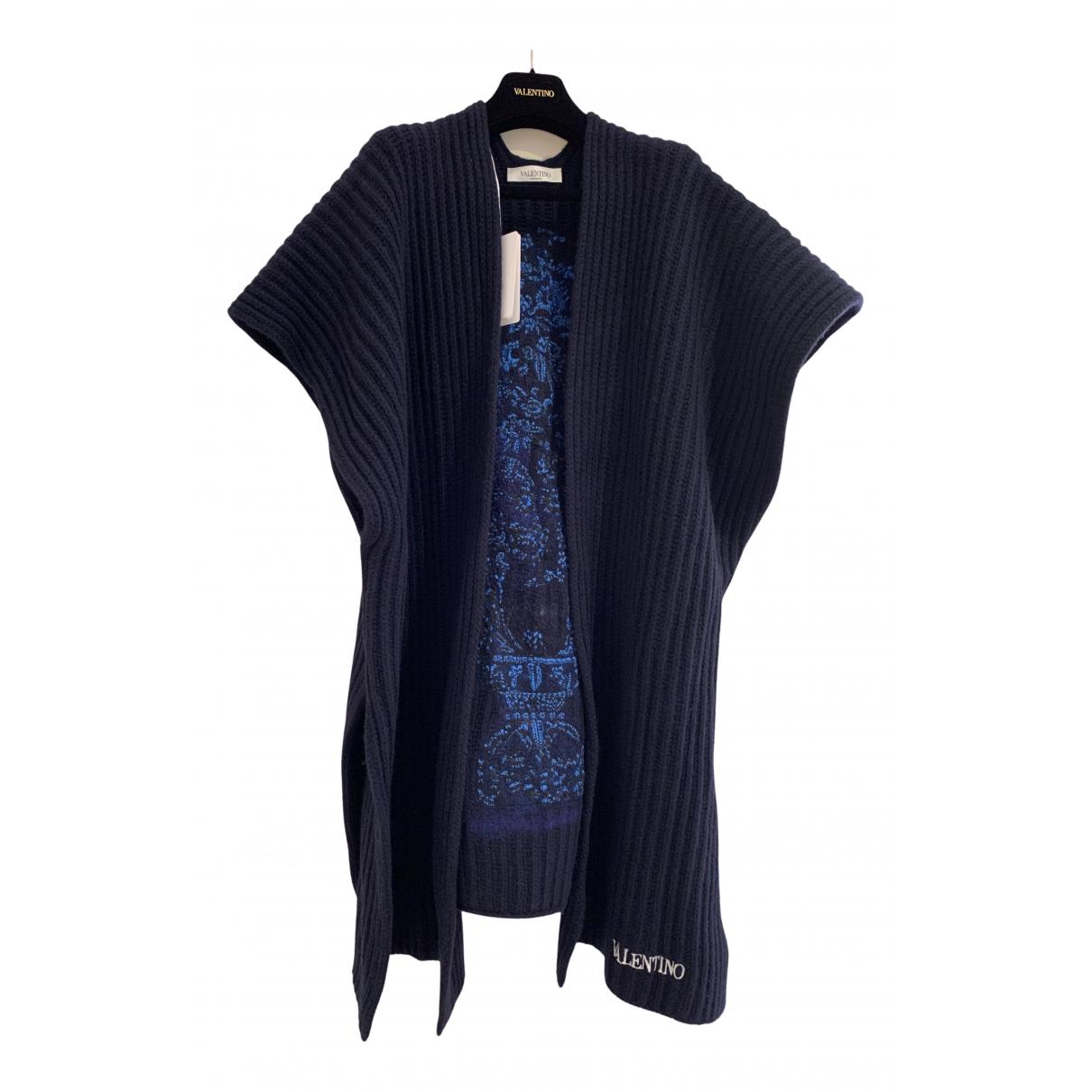 Valentino Garavani - Pull   pour femme en cachemire - bleu
