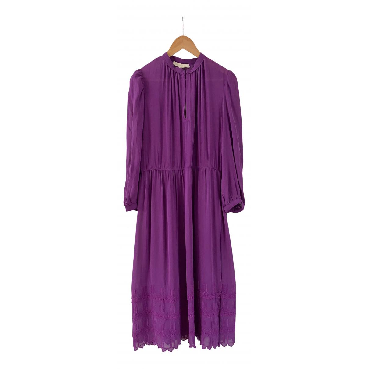 Vanessa Bruno \N Kleid in  Lila Seide
