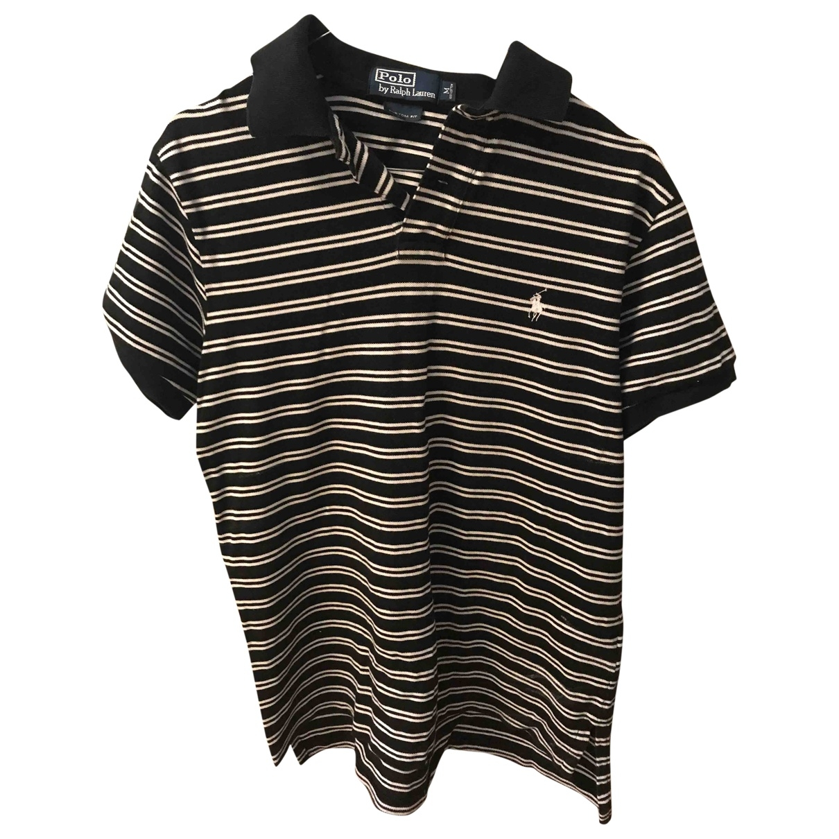 Polo Ralph Lauren \N Navy Cotton Polo shirts for Men M International