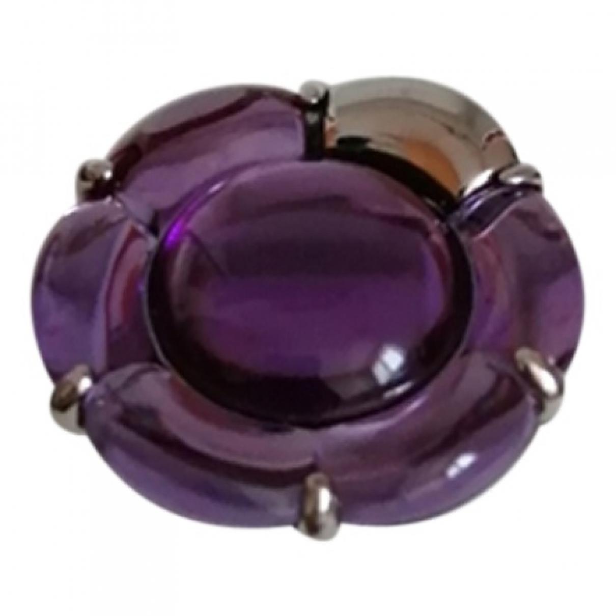 Baccarat - Bague   pour femme en argent - violet
