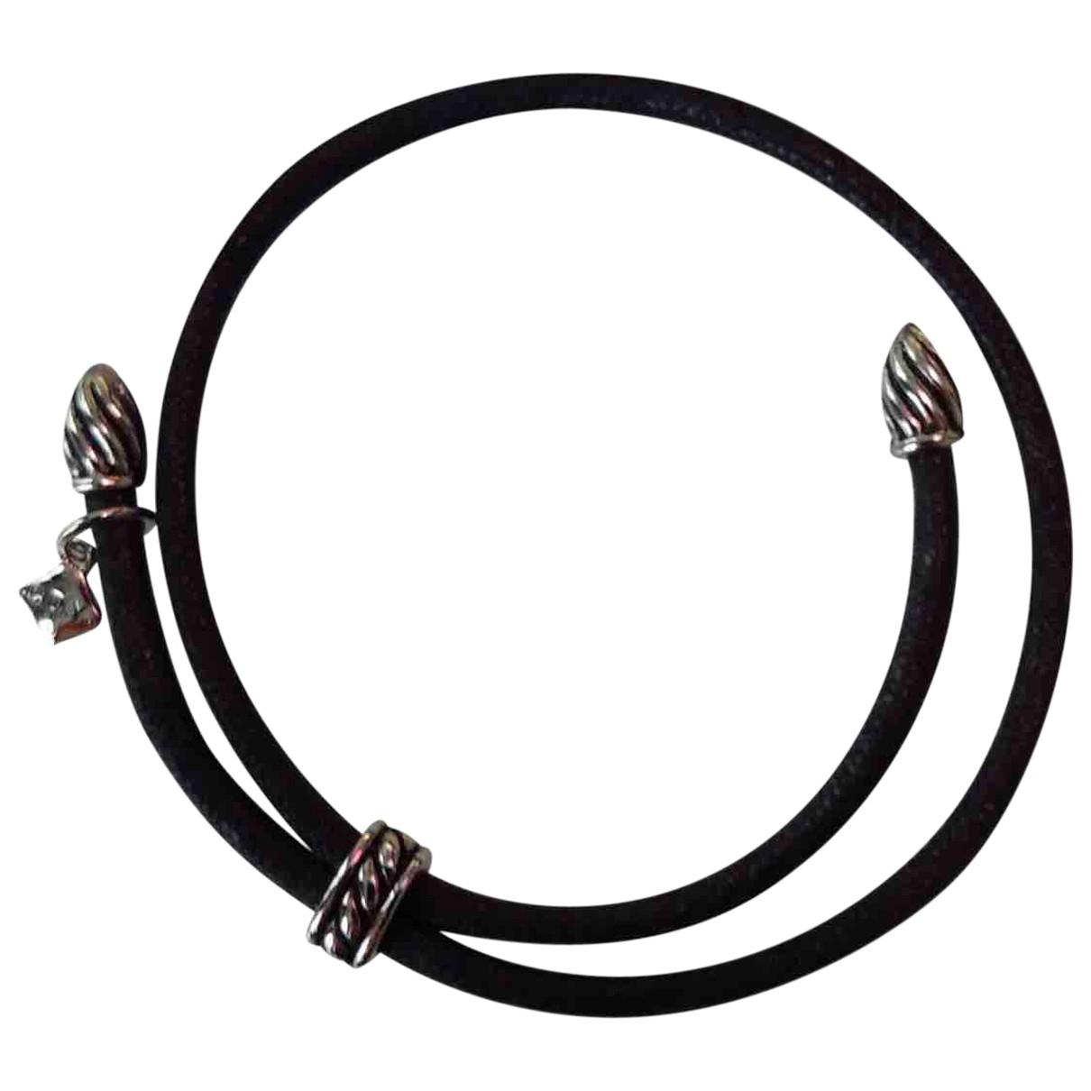 David Yurman N Black Cloth bracelet for Women N