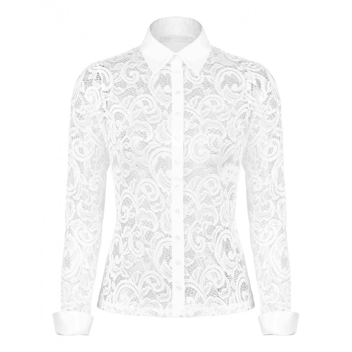 Anne Fontaine - Trench   pour femme en coton - blanc