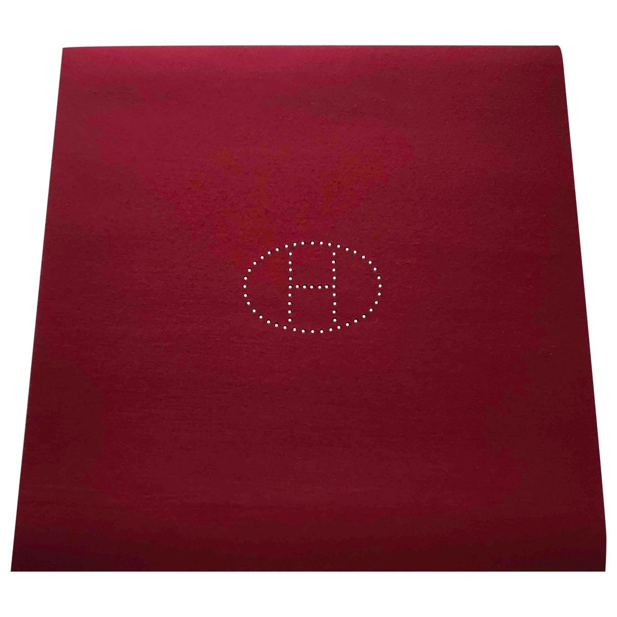 Hermes - Objets & Deco   pour lifestyle en laine - bordeaux
