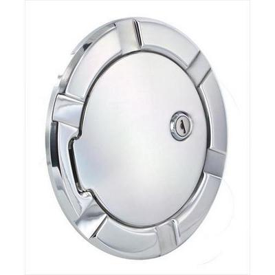 AMI Billet Fuel Doors (Polished Aluminum) - 6950PL