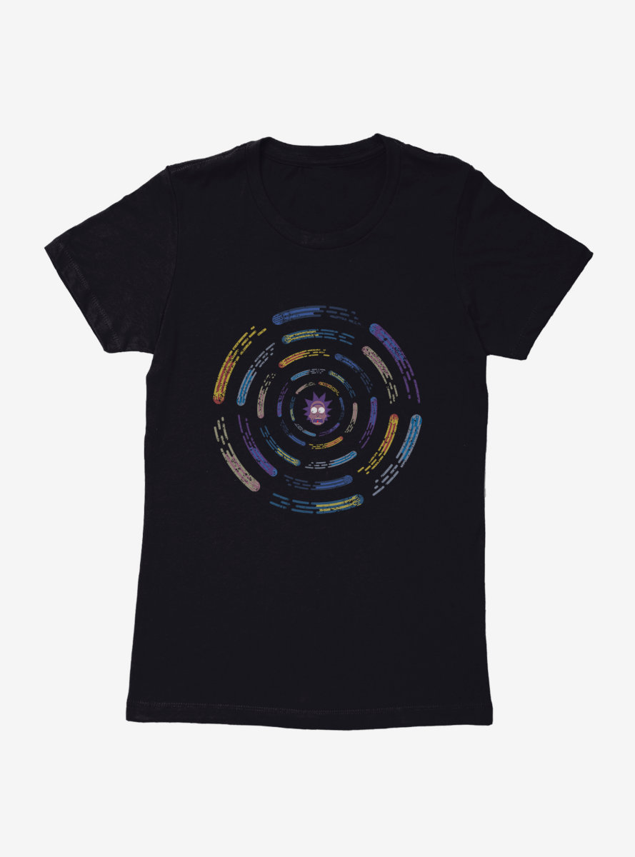 Rick And Morty Rick Comets Womens T-Shirt