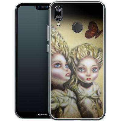 Huawei P20 Lite Silikon Handyhuelle - Two Sisters von Tiago Azevedo