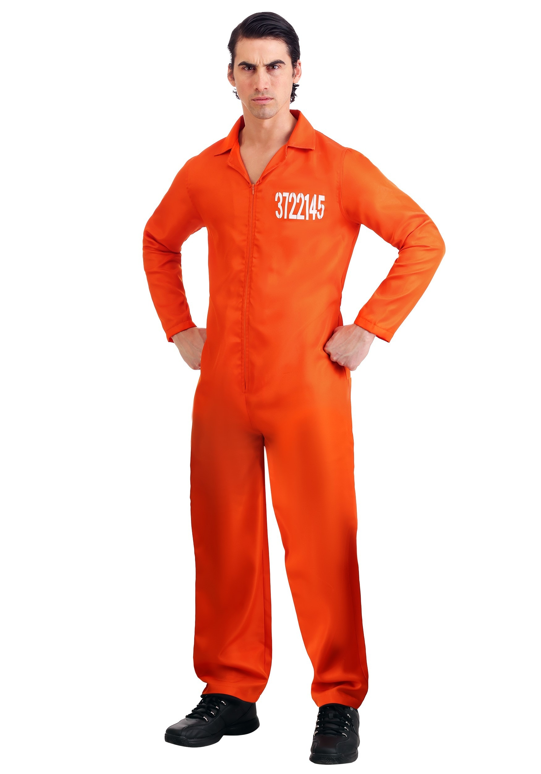 Orange Prison Mens Jumpsuit | Holes Costume