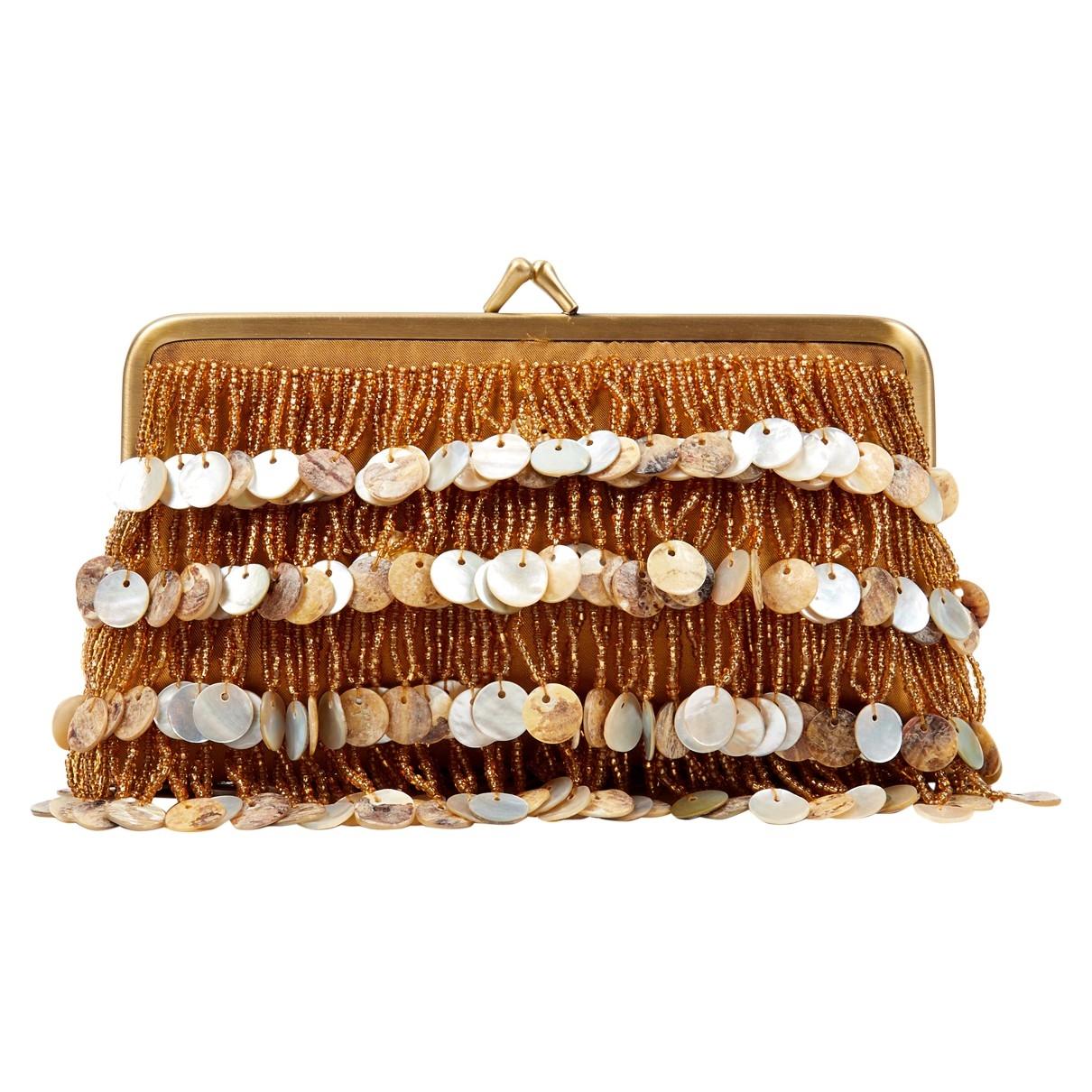 Sarahs Bag - Pochette   pour femme - dore