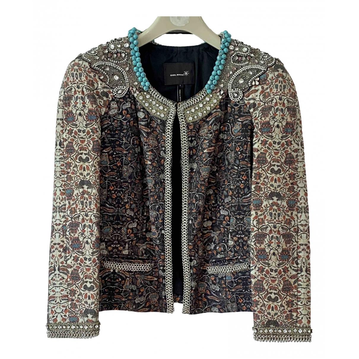 Isabel Marant - Veste   pour femme en coton - multicolore