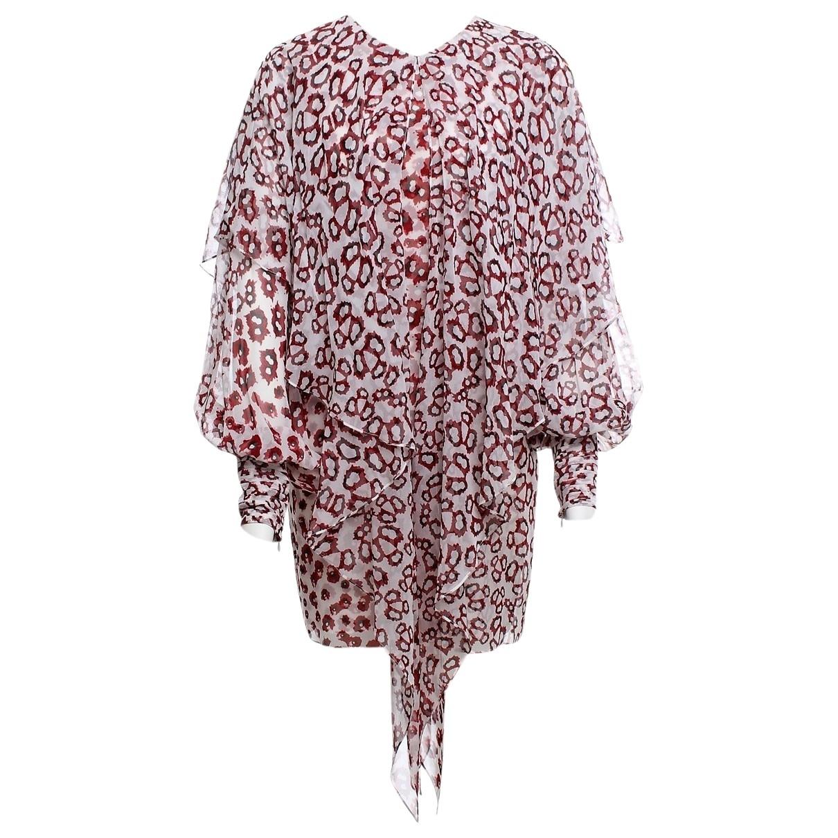 Thomas Wylde - Robe   pour femme en soie - blanc
