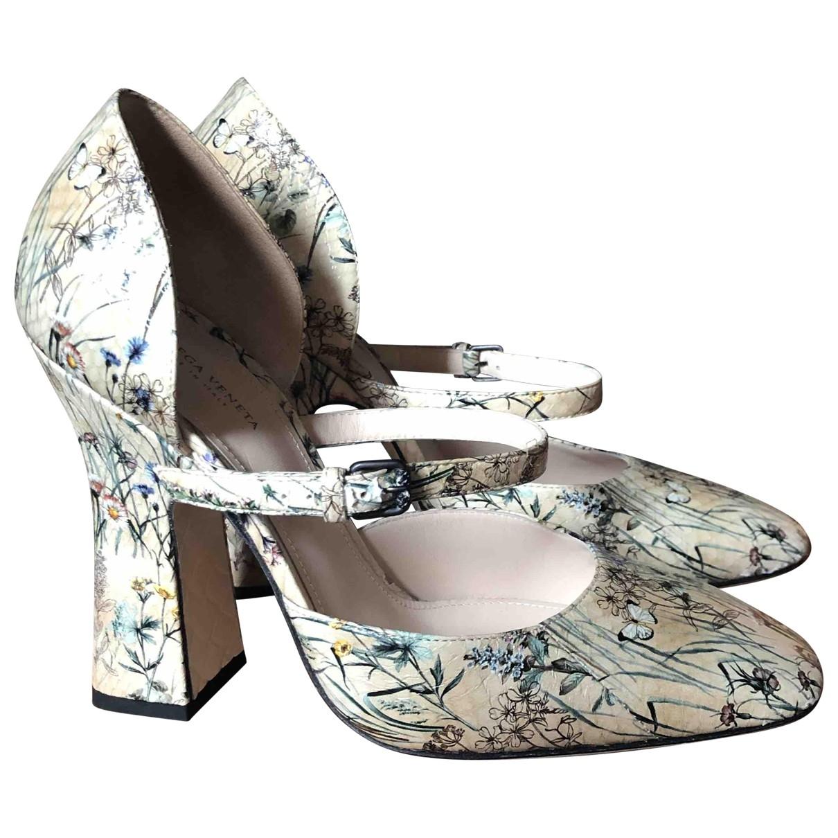 Bottega Veneta \N Multicolour Leather Heels for Women 38 EU