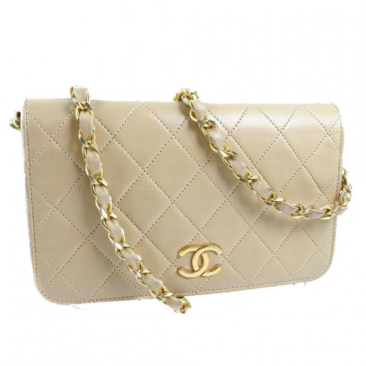 Chanel \N Handtasche in Fell