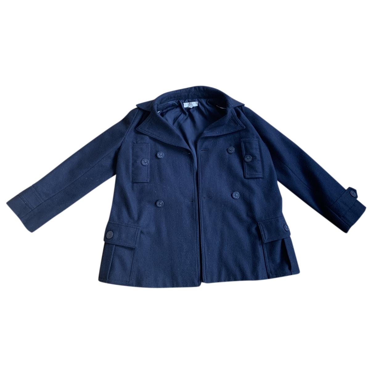 Stella Mccartney Kids - Blousons.Manteaux   pour enfant en laine - marine