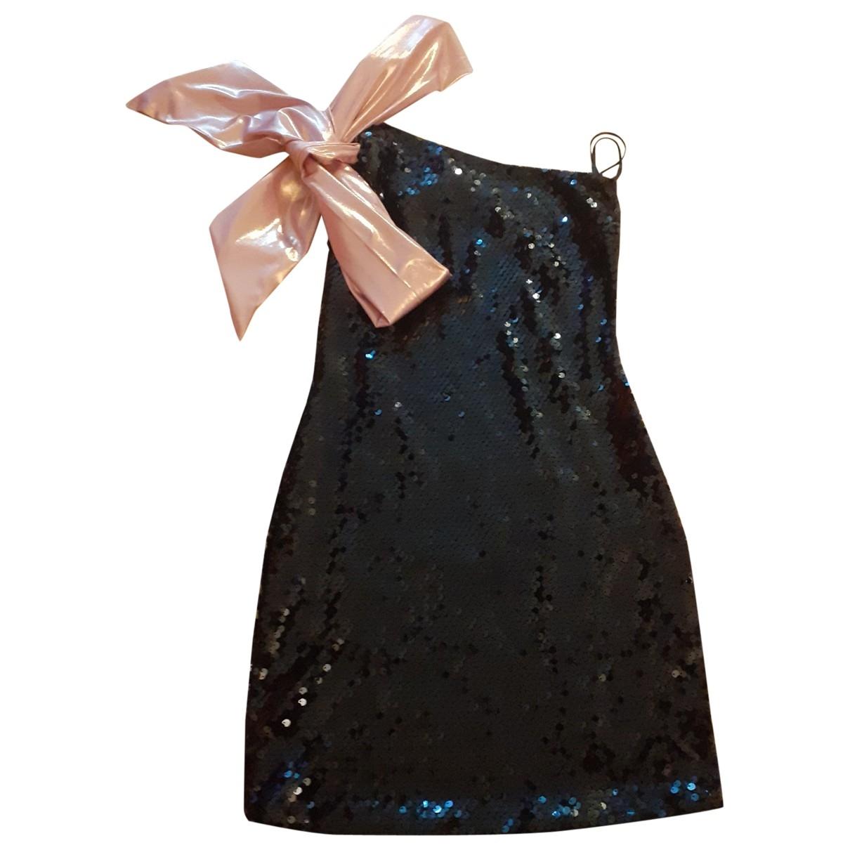 Aniye By N Black Glitter dress for Women 36 IT