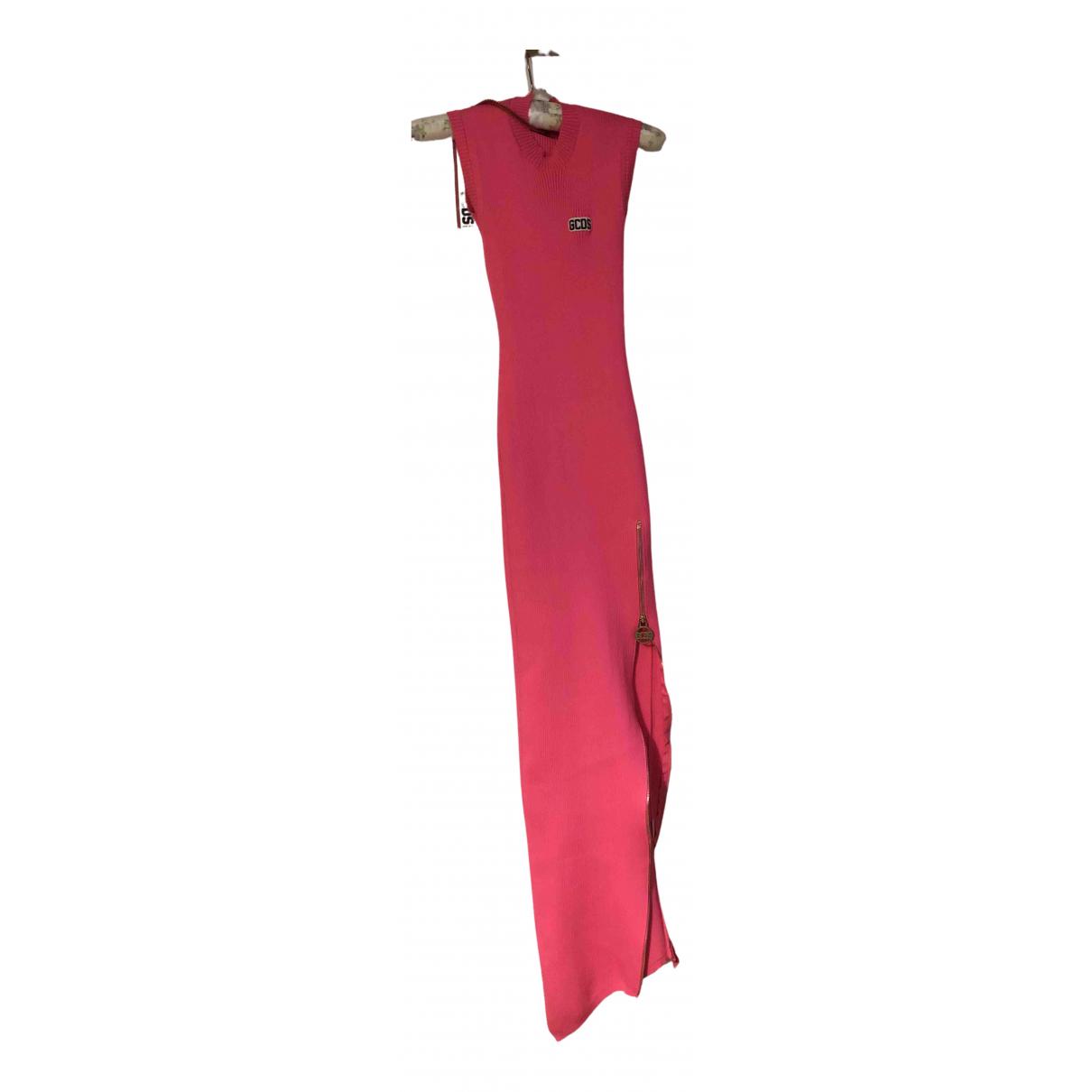 Gcds \N Kleid in  Rosa Polyester
