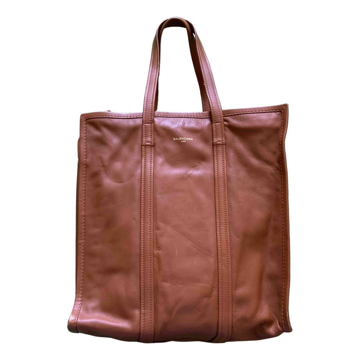 Balenciaga \N Camel Leather bag for Men \N