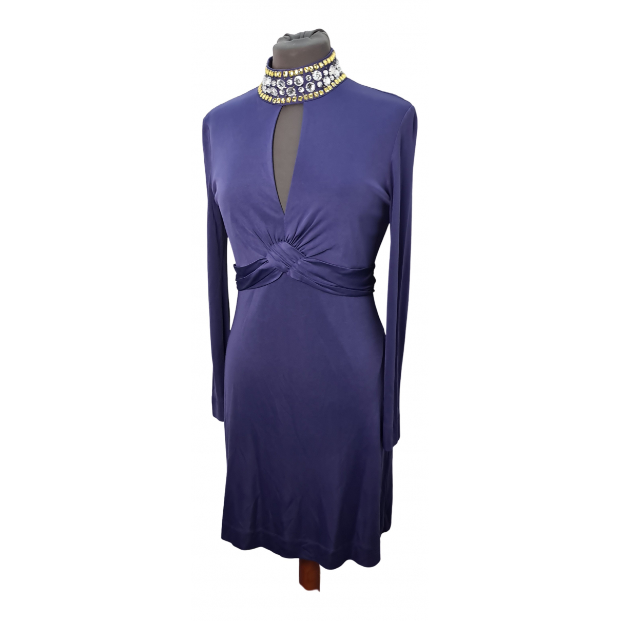 Red Valentino Garavani \N Kleid in  Lila Seide