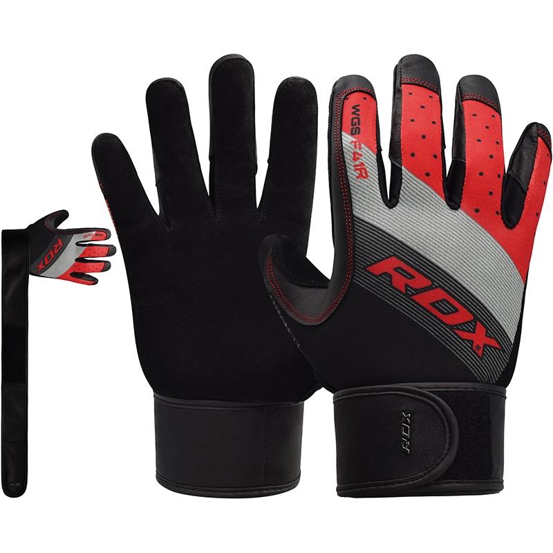 RDX F41 Fitness Handschuhe S Rot