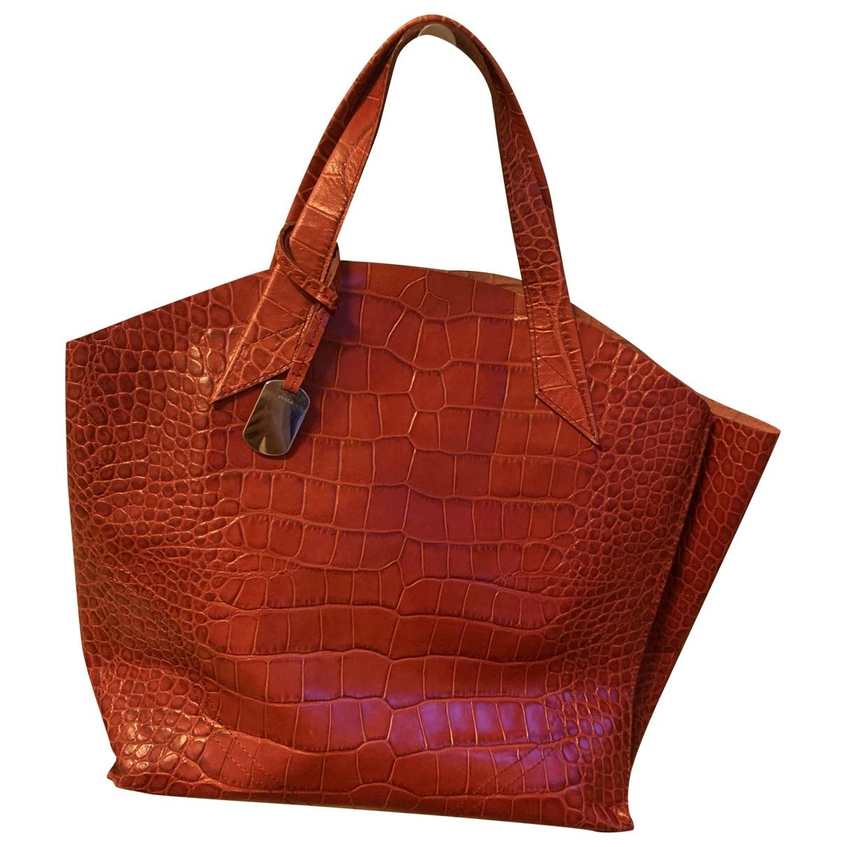 Furla \N Red Leather handbag for Women \N