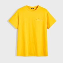 Camiseta de hombres con estampado de letra
