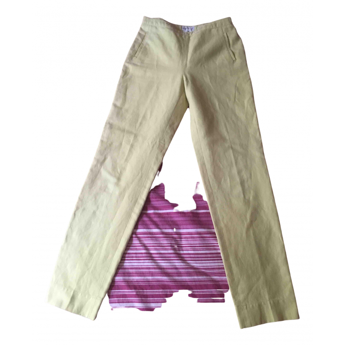 Pantalon recto Agnes B.