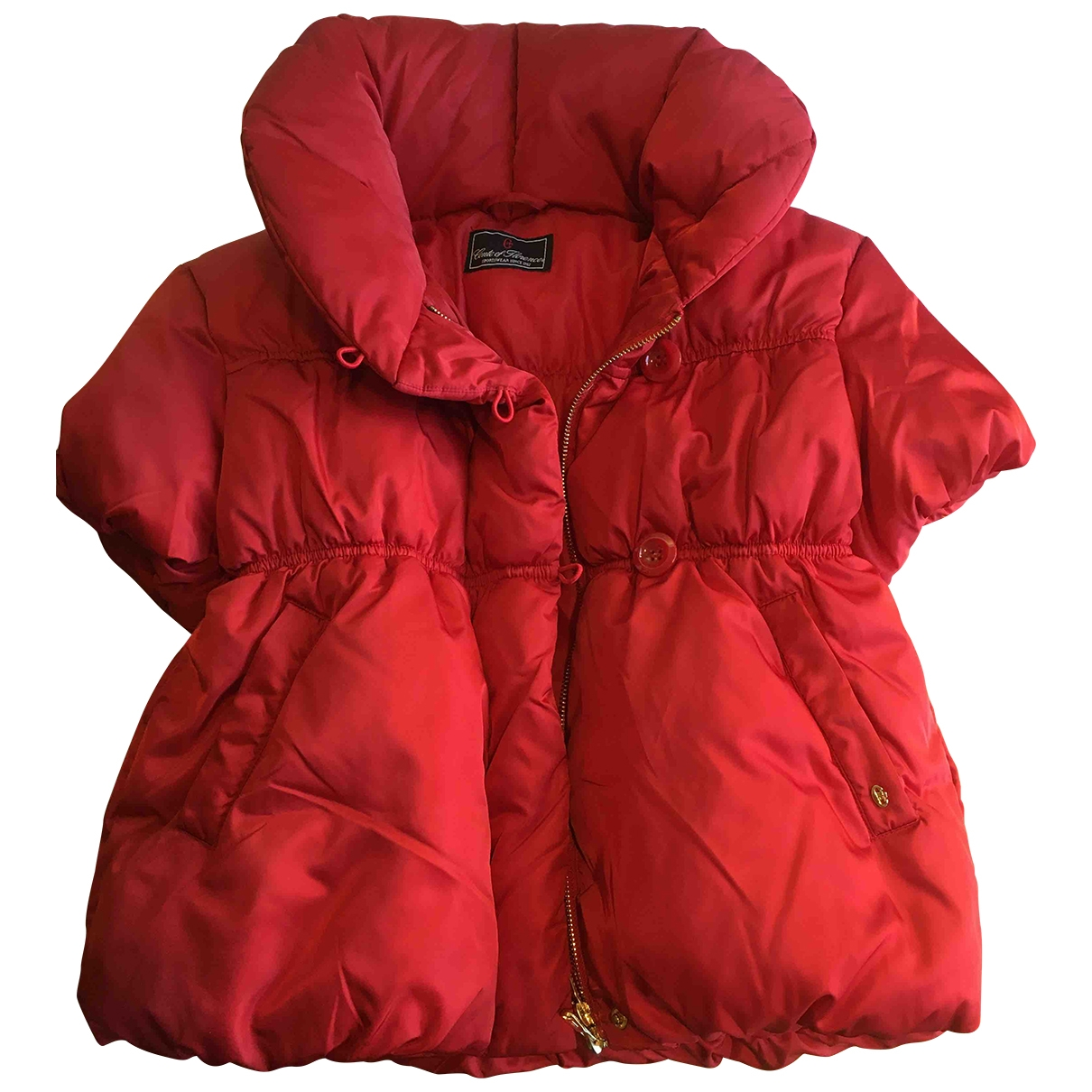 Non Signé / Unsigned \N Red coat for Women 42 IT