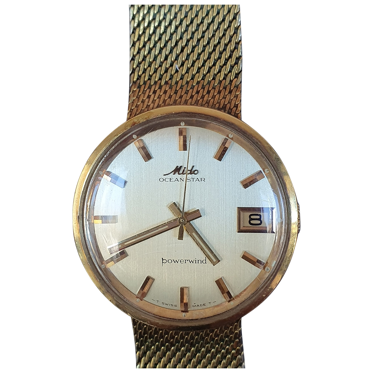 Mido \N Uhr in  Gold Stahl
