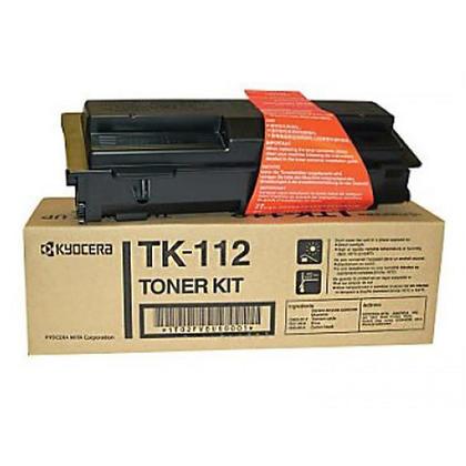 Kyocera-Mita TK-112 originale Black Toner Cartridge