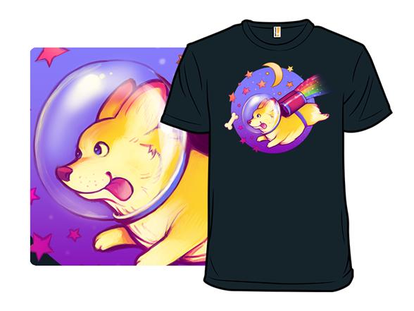 See You Space Corgi T Shirt