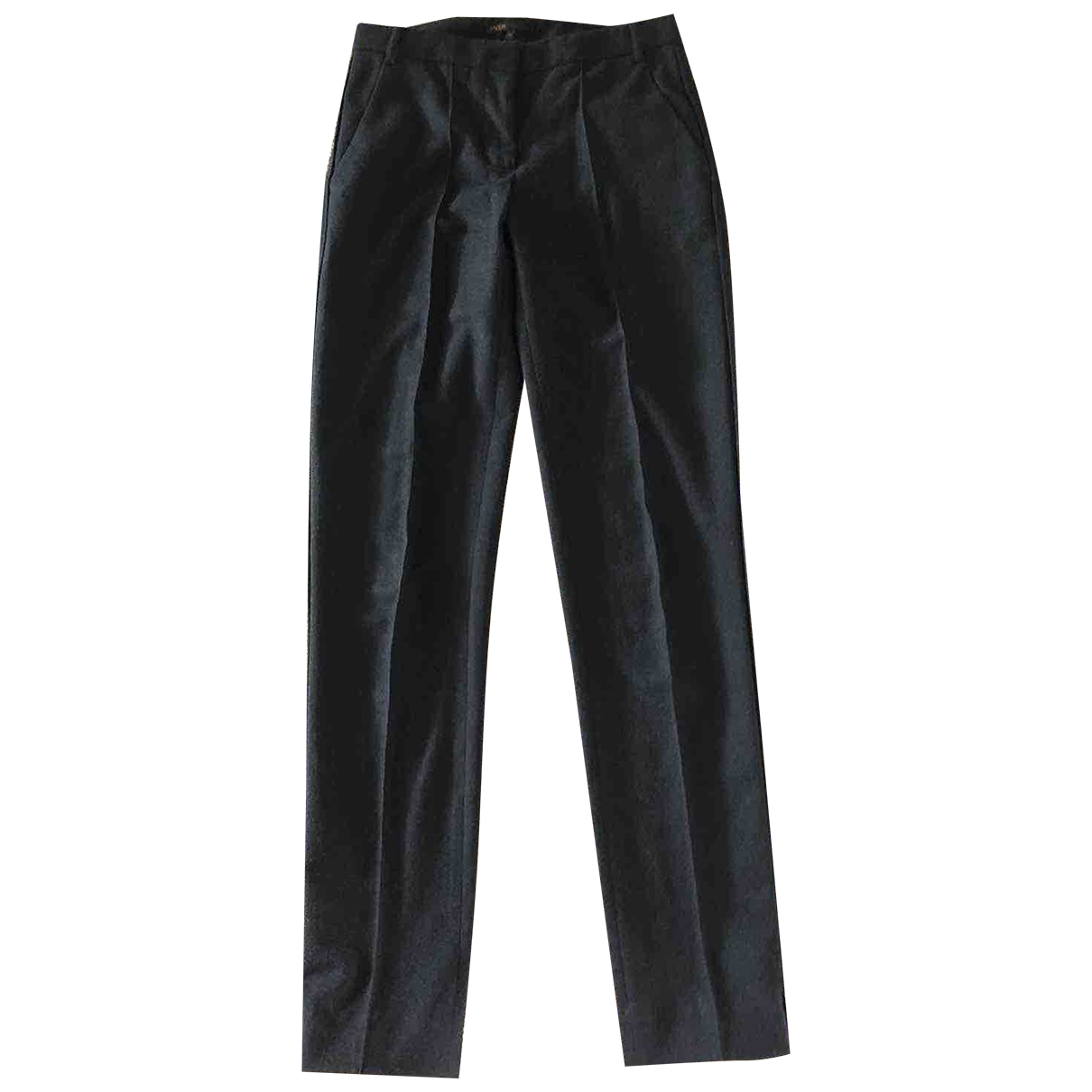 Maje \N Wool Trousers for Women 36 FR