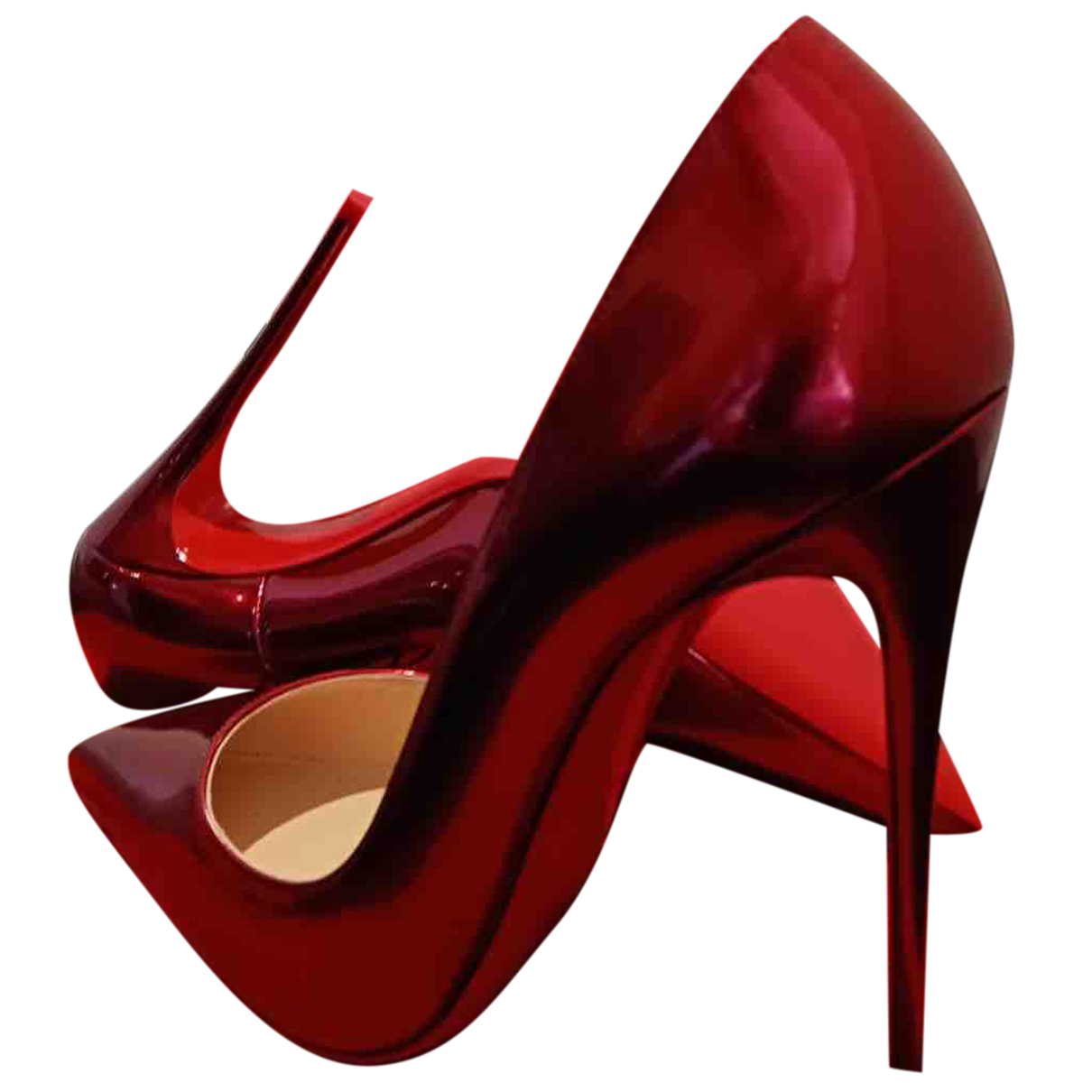 Christian Louboutin - Escarpins So Kate  pour femme en cuir verni - rose
