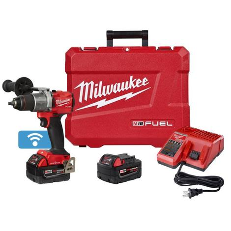 Milwaukee M18™ Fuel™ 1/2 in. Hammer Drill with One Key™ Kit