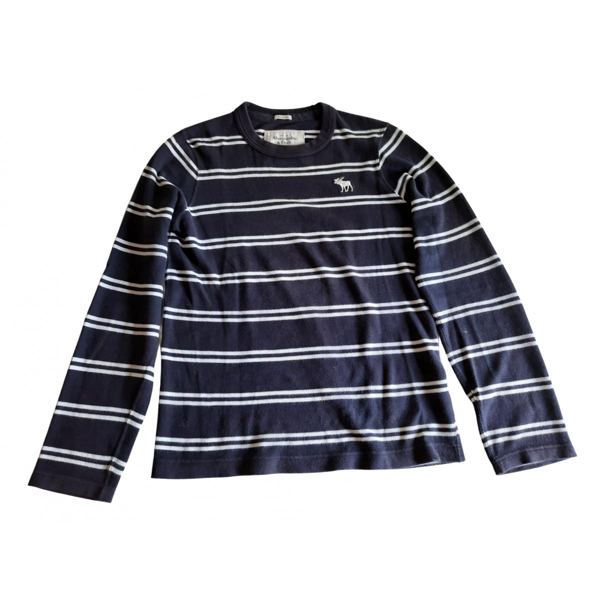 Abercrombie & Fitch \N Pullover.Westen.Sweatshirts  in  Blau Baumwolle