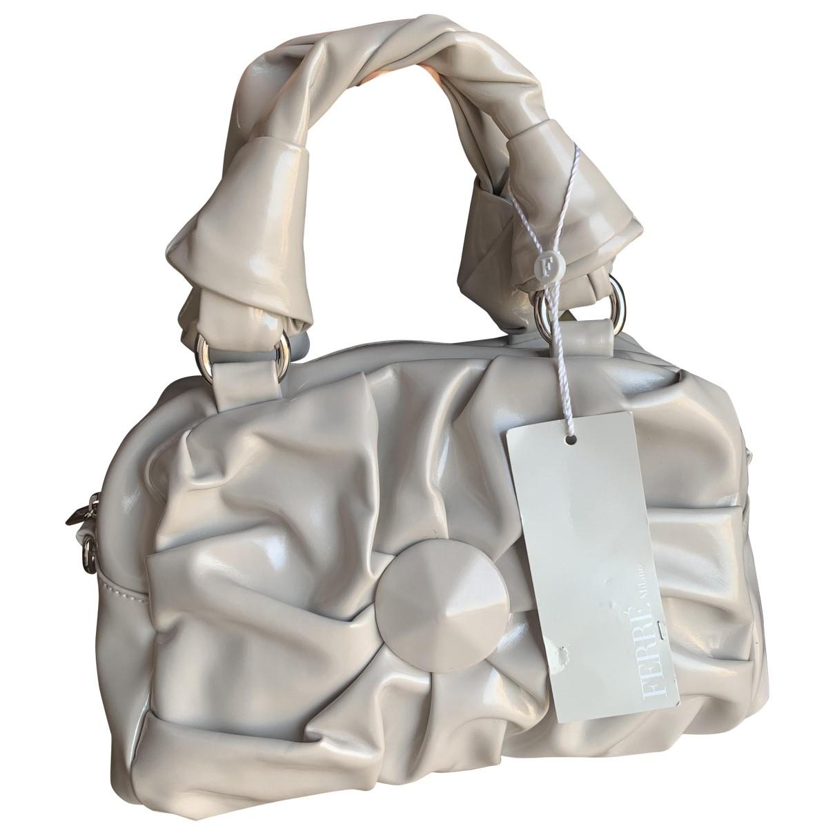Gianfranco Ferré \N Grey Leather handbag for Women \N