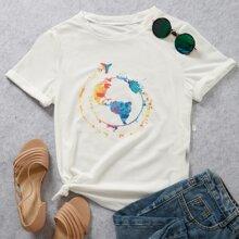 Camisetas de Tallas grandes Grafivo Casual