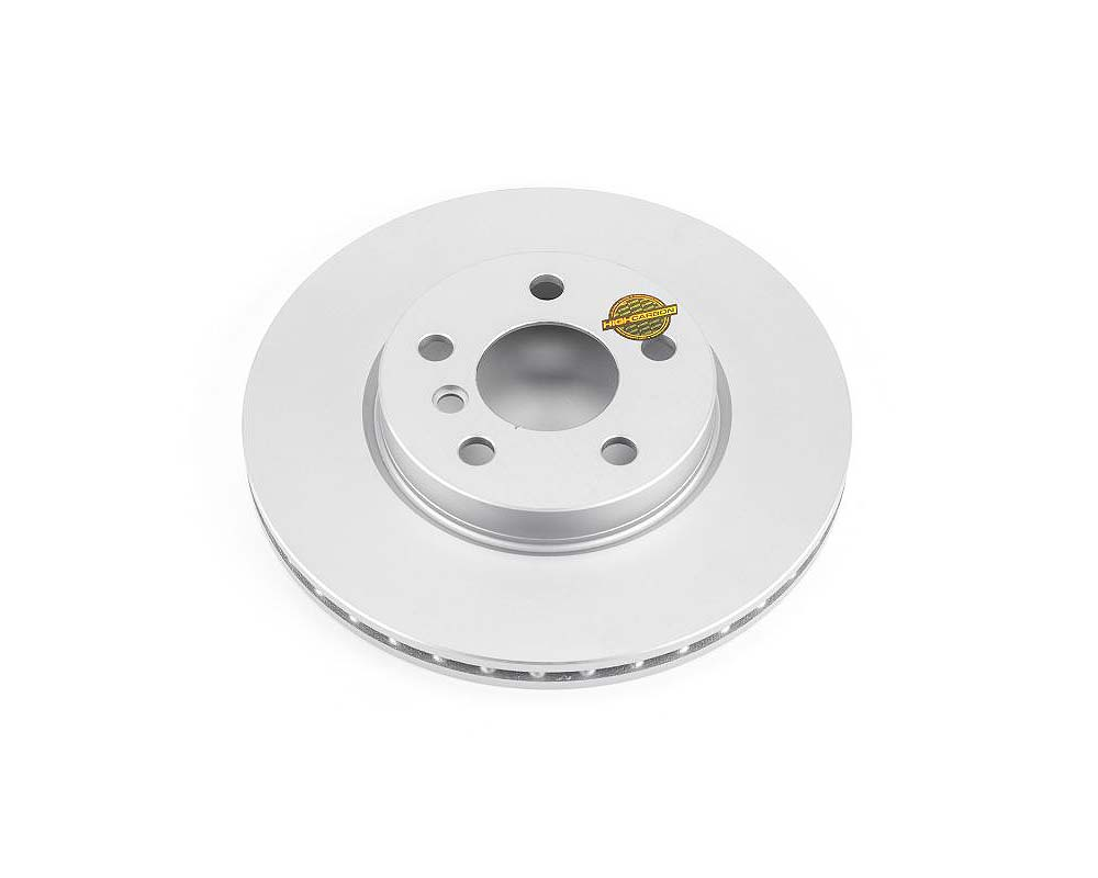 Power Stop EBR1647EVC Evolution High Carbon Geomet Coated Rotor Front Mini Cooper 2014-2019