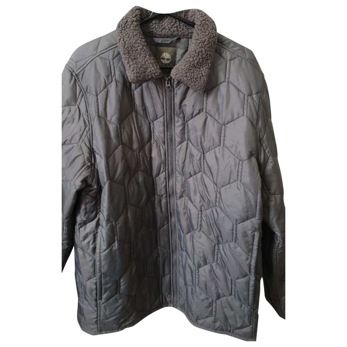 Timberland \N Grey Cotton coat  for Men XL International
