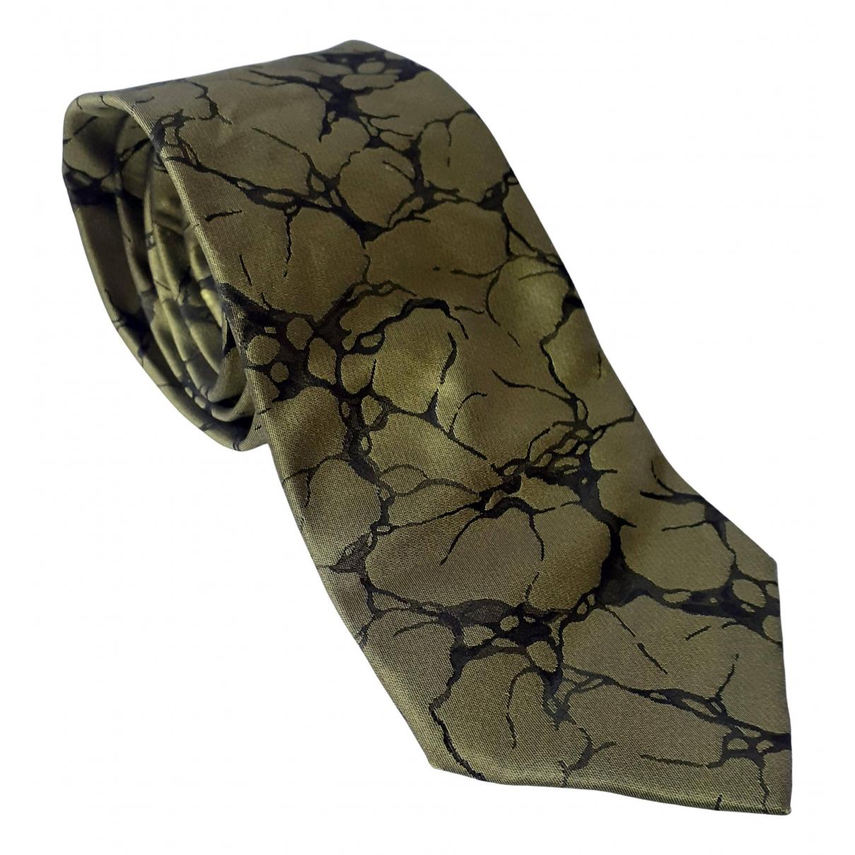 Paul Smith - Cravates   pour homme en soie - vert