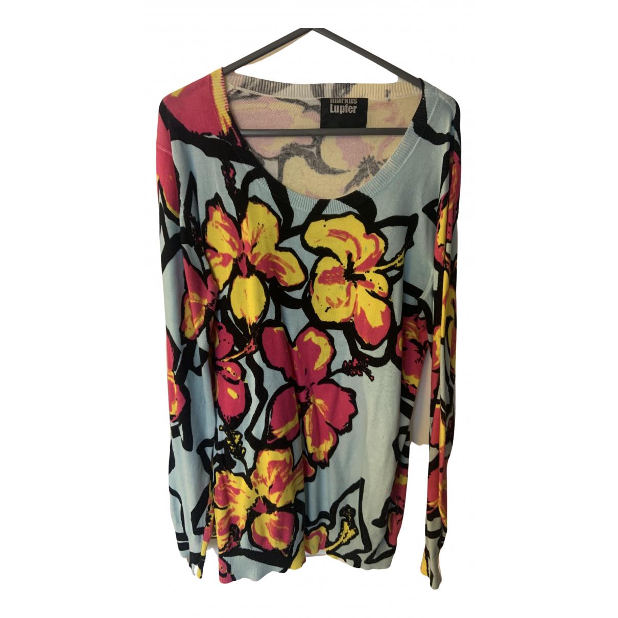 Markus Lupfer - Pull   pour femme en laine - multicolore